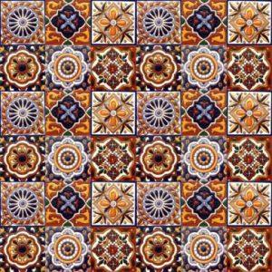 gael-patchwork-z-plytek-ceramicznych-z-reliefem